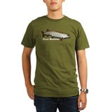 Organic Men's River Monster Muskie T-Shirt (dark)
