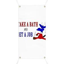 Take a Bath & Get a Job Banner
