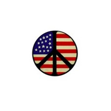 Cute Flying flag Mini Button (100 pack)