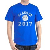 Class Of 2017 Baseball T-Shirt