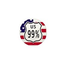 Unique We are the 99 percent Mini Button (10 pack)