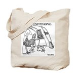 Primitive Computer Graphics Tote Bag