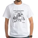 Primitive Computer Graphics White T-Shirt