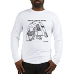 Primitive Computer Graphics Long Sleeve T-Shirt