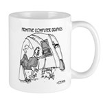 Primitive Computer Graphics Mug