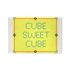 Cube Sweet Cube<br> Rectangle Magnet