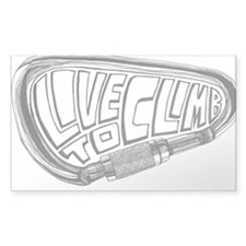 Live to Climb Decal