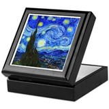 Van Gogh - Starry Night Keepsake Box