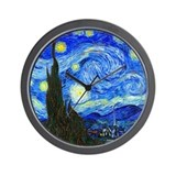 Van Gogh - Starry Night Wall Clock