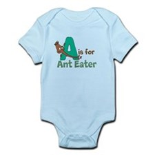 A is for Anteater Infant Bodysuit