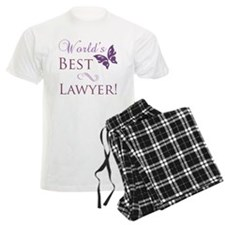 World's Best Lawyer pajamas