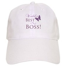 World's Best Boss Baseball Cap