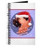 Bull Mastiff Christmas Design Journal