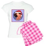 Bull Mastiff Christmas Design Women's Light Pajama