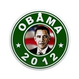 Obama 2012 Election Commemorative Ornament (Round)