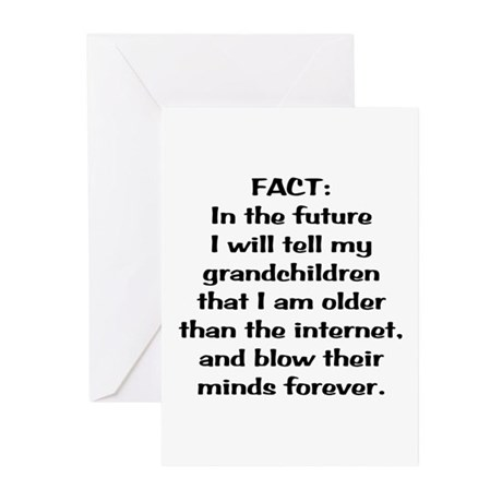 Older than the internet Greeting Cards (Pk of 20)