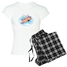 When Pigs Fly Happy Piggy Pajamas
