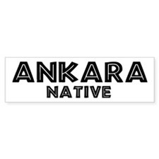 Ankara Native Bumper Bumper Sticker