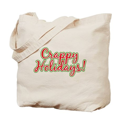 Crappy Holidays Tote Bag