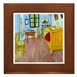 Van Gogh - Bedroom at Arles Framed Tile