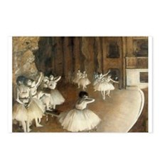 Rehearsal Ballet Onstage Postcards (Package of 8)