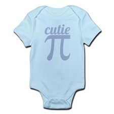 Cutie Pi Blue Infant Bodysuit