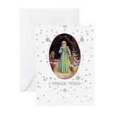 Snow Maiden Greeting Card - Happy New Year!