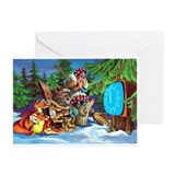 Animated cartoon Greeting Cards (Pk of 10)