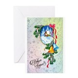 New Year's Bells Greeting Card