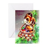 Playful squirrel Greeting Cards (Pk of 10)