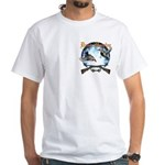 Duck hunter 2 White T-Shirt
