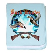 Duck hunter 2 baby blanket