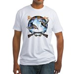 Duck hunter 2 Fitted T-Shirt