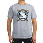 Duck hunter 2 Men's Fitted T-Shirt (dark)
