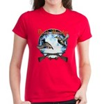 Duck hunter 2 Women's Dark T-Shirt