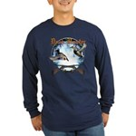 Duck hunter 2 Long Sleeve Dark T-Shirt