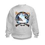 Duck hunter 2 Kids Sweatshirt