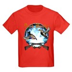 Duck hunter 2 Kids Dark T-Shirt