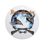 Duck hunter 2 Ornament (Round)