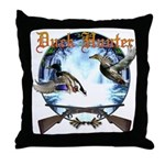 Duck hunter 2 Throw Pillow