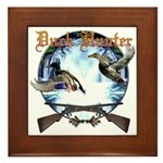 Duck hunter 2 Framed Tile