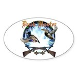 Duck hunter 2 Sticker (Oval)