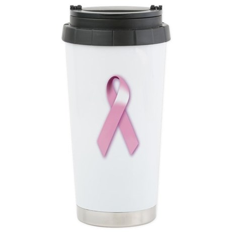 Breast Cancer Awareness Ceramic Travel Mug
