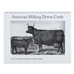 Milking Devon Wall Calendar