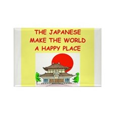 happy japanese Rectangle Magnet (100 pack)