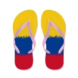 Colombian Flag Flip Flops