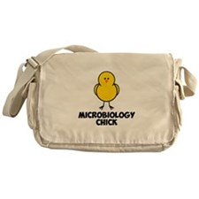 Microbiology Chick Messenger Bag