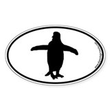 Penguin SILHOUETTE Decal