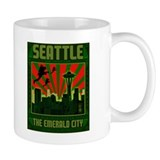 SEATTLE THE EMERALD CITY Mug