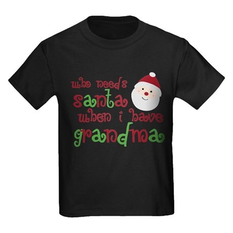 Who Needs Santa Kids Dark T-Shirt